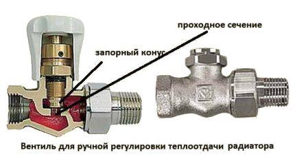 Radiator Control Valve