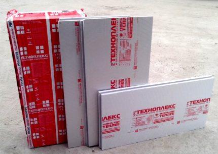 Insulation plates Technoplex