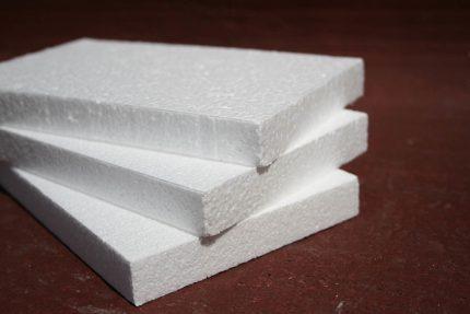 Polyfoam for insulation of internal walls