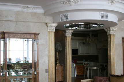 Decorative grilles for ventilation