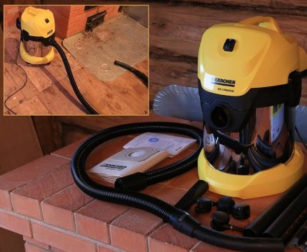 Vacuum cleaner Karcher WD 3 Premium