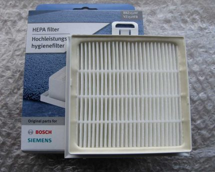 Filter for vacuum cleaner Bosch
