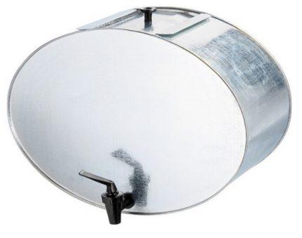 Galvanized washbasin