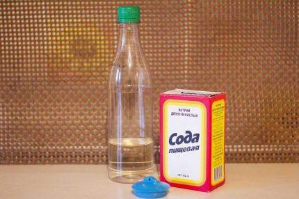 Bath soda