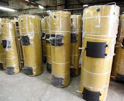 Stropuva boilers
