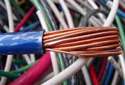 Wire core structure