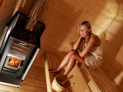 Steam bath stove