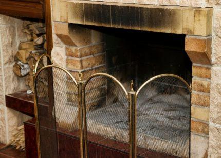 Ramoneur pour le nettoyage de la cheminée