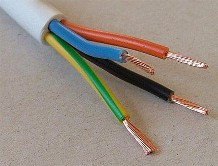 PVA electric wire