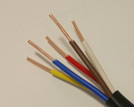 VVG electric cable
