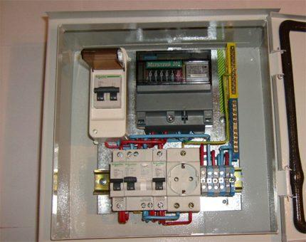 Distribution des composants à l'intérieur du bouclier