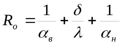 Formula for calculating