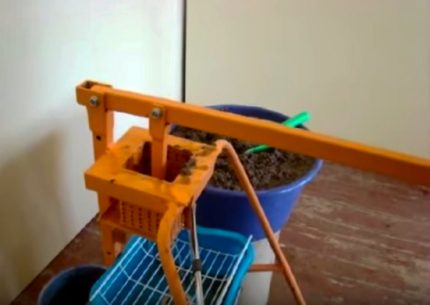 The simplest homemade machine