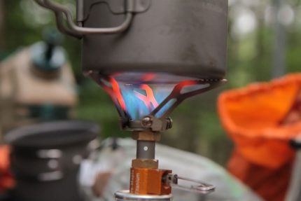 Nylon gas burner