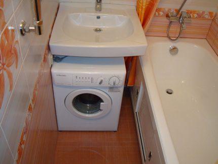 Electrolux washbasin under the sink