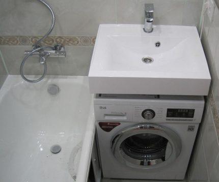 Shallow washbasin