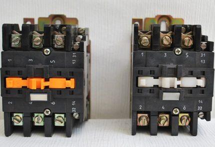 Klasiski elektromagnētiskie starteri