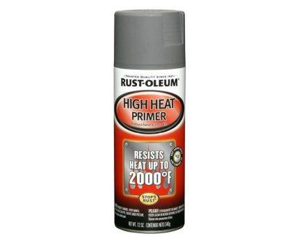 Enamel Rust Oleum heat-resistant