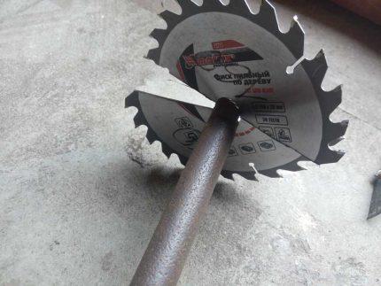 Homemade drill