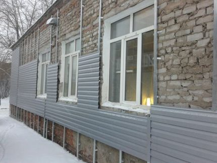 Installation of coating without insulation