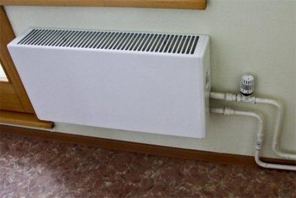 Paprastas termostato įtraukimas
