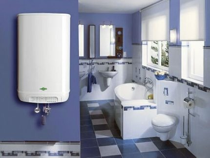 Power of gas water heater