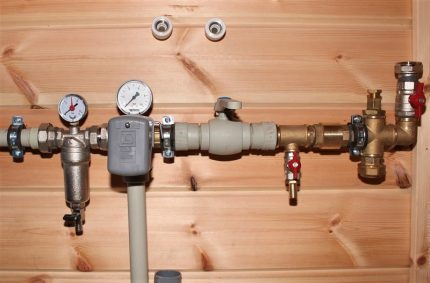 Bathroom Pressure Reducer