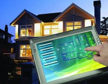 A smart home project has been implemented