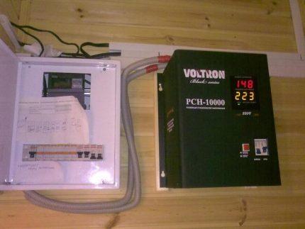 Voltage regulator selection