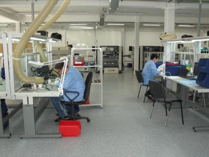 Workers in the collection of stabilizers