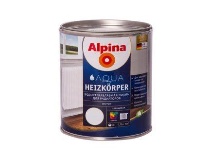 Radiatoru krāsa Alpina Heizkoerper