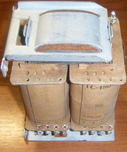Strāvas transformators TS-180 stabilizatoram