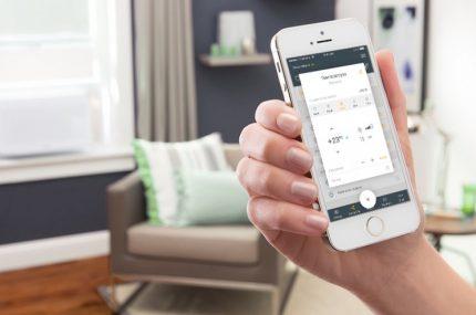 Mobilioji aplikacija vidaus klimato kontrolei