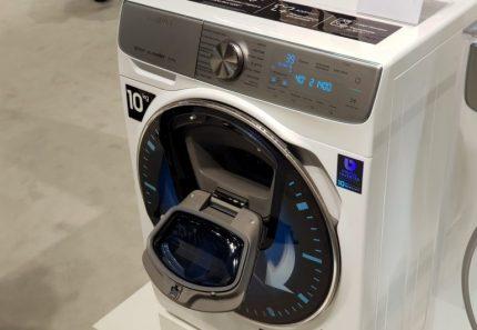 Išmanioji skalbimo mašina