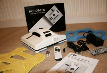 """""""Hobot 268"""" robotas"""