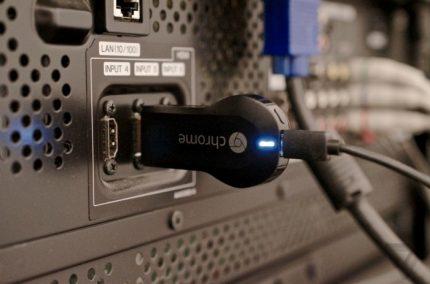 """""""Google Chromecast"""" laikmenų adapteris"""