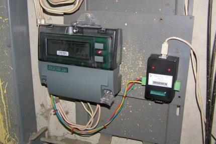 Two-tariff electric meter Mercury