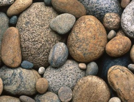 Types of stones for a bath