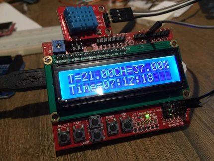 LCD lenta