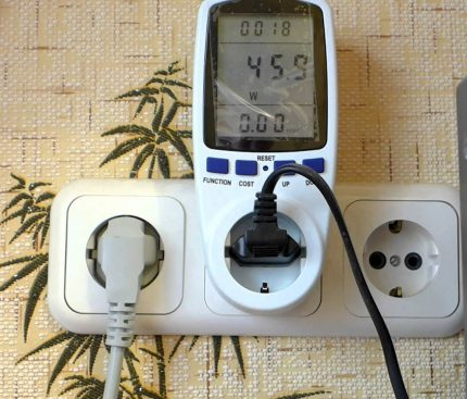 Ammeter with socket