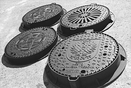 Main sewer manholes