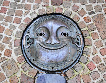 Original sewer manhole