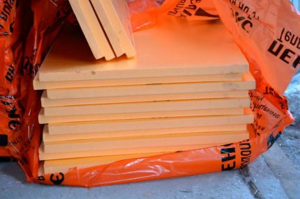 Material for insulation of floors penopleks