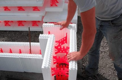 Coffrage fixe en polystyrène expansé