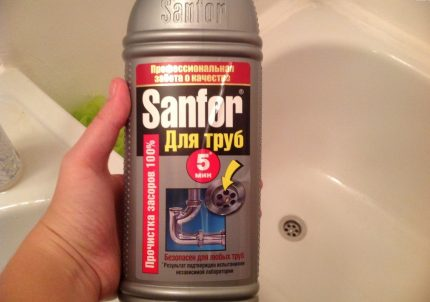 Sanfor Pipe Wash Gel