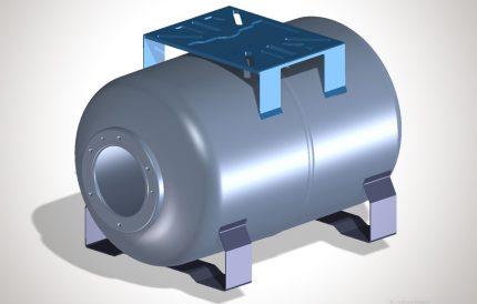 Expansion tank mount