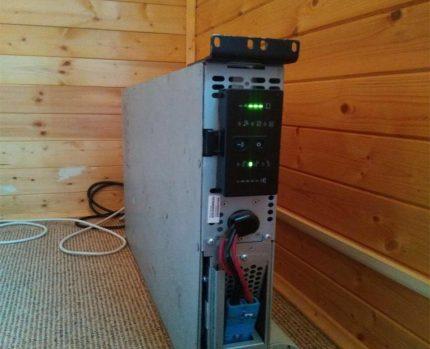 Avbrottsfri strömförsörjning