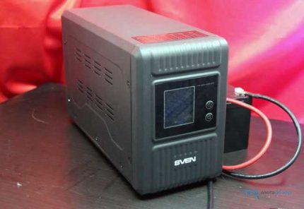 UPS med externt batteri
