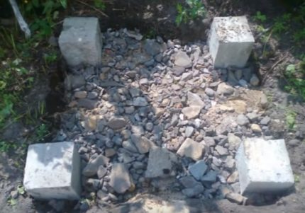 Foundation arrangement