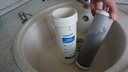 Filtre d'évier